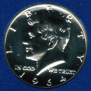 Kennedy Proof Half Dollar 1964 - 1969
