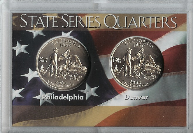 50 State Quarter 2 Coin Sets