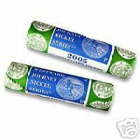 2005 Westward Journey Nickel Rolls P&D Set - Ocean in View