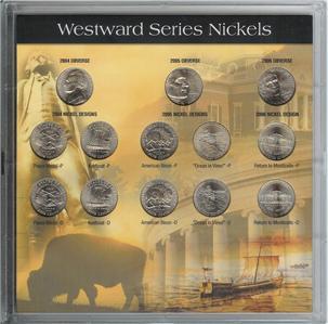 Westward Journey 2004 20052006 Nickels 13 Coin Set
