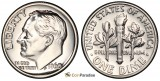 1960 Proof SILVER Gem Brilliant Roosevelt Dime [ clone ]