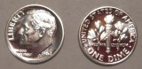 1962 Proof SILVER Gem Brilliant Roosevelt Dime