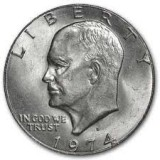 1974-D Uncirculated Eisenhower CP6510