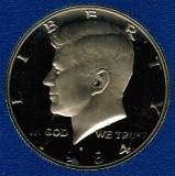 1984 S Kennedy Proof Half Dollar CP2023