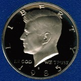 1985 S Kennedy Proof Half Dollar CP2024