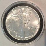 1986 Silver Eagle KEY Date - Actual Coin Pictured