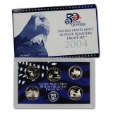 2004 US Mint 50 State Quarters Proof Set Q04