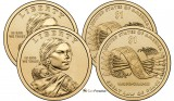 2010 P & D Sacagawea Uncirculated Dollars CP2539