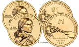 2011 P & D Sacagawea Uncirculated Dollars CP2540