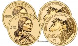 2012 P & D Sacagawea Uncirculated Dollars CP2541