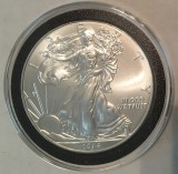 2014 Silver Eagle  - Actual Coin Pictured
