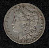 1898-O Silver Morgan Dollar - Actual Coin Pictured