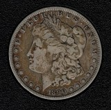 1890-O Silver Morgan Dollar - Actual Coin Pictured