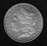 1884 Silver Morgan Dollar - Actual Coin Pictured