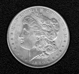 1886 Silver Brilliant Uncirculated Morgan Dollar - Actual Coin Pictured