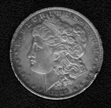 1889 Silver Morgan Dollar - Actual Coin Pictured