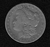 1884-O Silver Morgan Dollar - Actual Coin Pictured