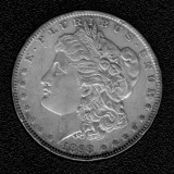 1898 Silver Morgan Dollar - Actual Coin Pictured