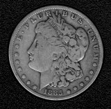 1885 Silver Morgan Dollar - Actual Coin Pictured