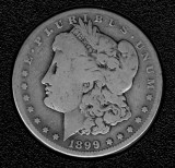 1899-O Silver Morgan Dollar - Actual Coin Pictured