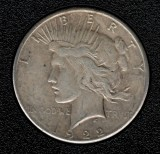 1922-S Silver Peace Dollar - Actual Coin Pictured