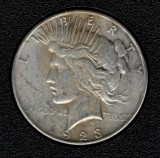 1923-S Silver Peace Dollar - Actual Coin Pictured