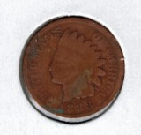 1888 Indian Head Penny - Actual Coin Pictured