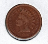 1896 Indian Head Penny - Actual Coin Pictured