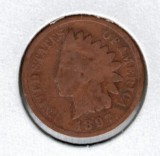 1897 Indian Head Penny - Actual Coin Pictured