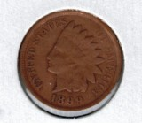 1899 Indian Head Penny - Actual Coin Pictured