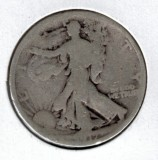 1917 Walking Liberty Half Dollar - Actual Coin Pictured