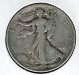 1938 Walking Liberty Half Dollar - Actual Coin Pictured