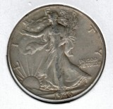 1946 Walking Liberty Half Dollar - Actual Coin Pictured