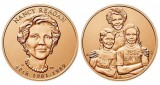"1 5/16"" Nancy Reagan Bronze Medal"