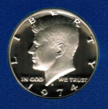 1974 S Kennedy Proof Half Dollar CP2013