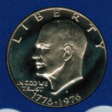 1975 S Proof Eisenhower Large Dollar CP2064