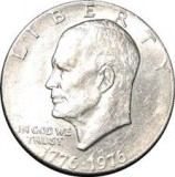 1976-S BU 40% Silver Eisenhower Large Dollar CP6517