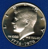 1976 S Kennedy Proof Half Dollar CP2015