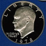 1978 S Proof Eisenhower Large Dollar CP2067