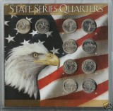 1999 Statehood Quarter complete P&D Set CP1069