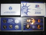 2000 United States Mint Proof Set P00