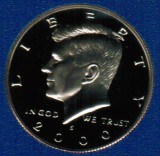 2000 S Kennedy Proof Half Dollar CP2039
