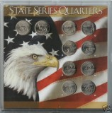 2002 Statehood Quarter complete P&D Set CP1070