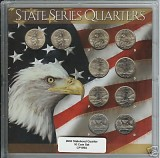 2003 Statehood Quarter complete P&D Set CP1094