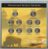 Westward Journey 2004 and 2005 10 Nickel Set