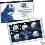 2005 US Mint 50 State Quarters Proof Set Q05