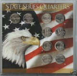 2005 Statehood Quarter complete P&D Set CP1066