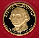 2007 Proof George Washington Proof Dollar CP2175