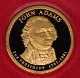 2007 Proof John Adams Proof Dollar CP2178