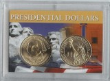 2007 Washington Presidential Dollar 2 coin set